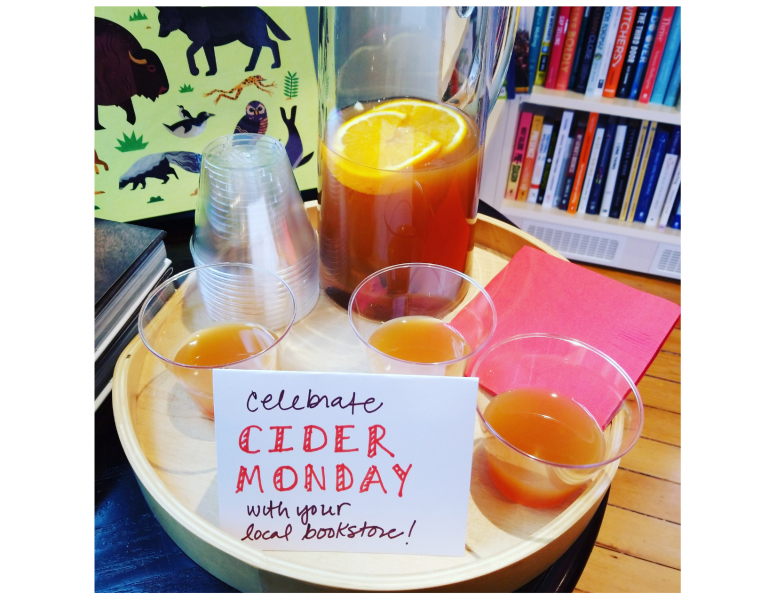 Cider Monday at River Bend Bookshop
