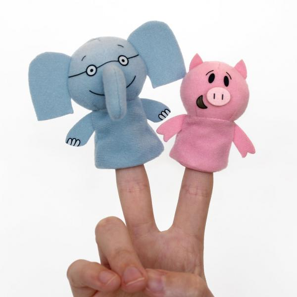 Elephant and Piggie Finger Puppets at River Bend Bookshop