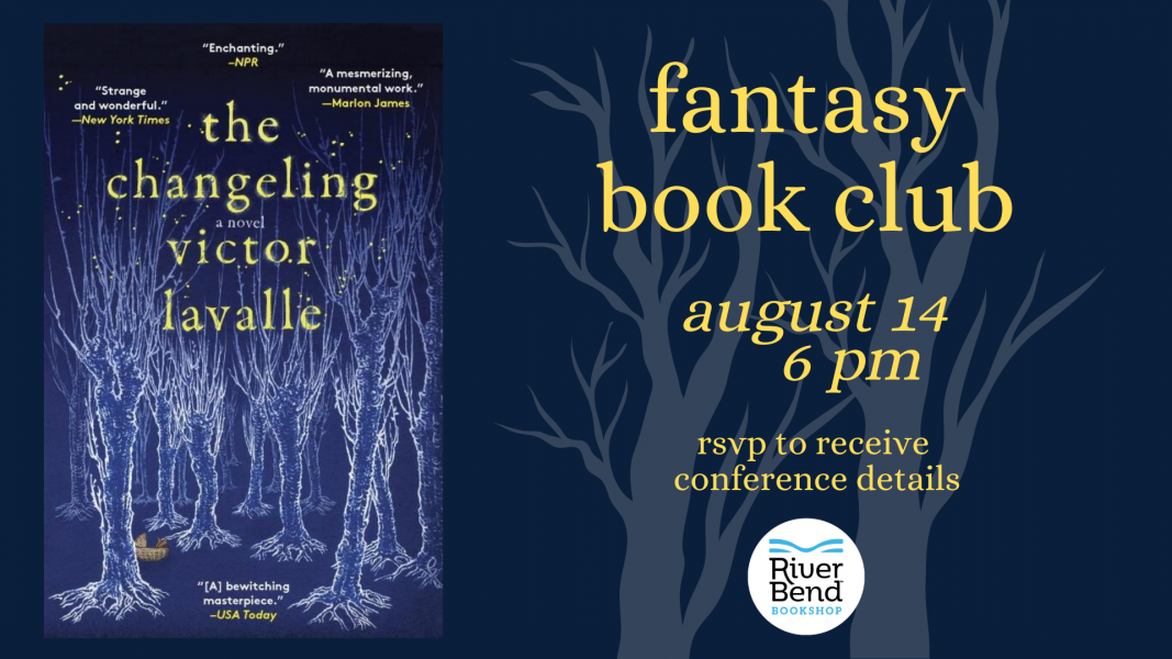 River Bend Bookshop Fantasy Book Club is reading The Changeling