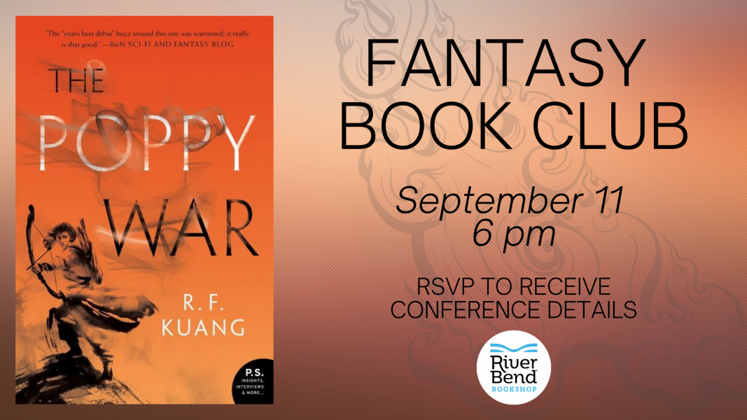River Bend Fantasy Book Club reads The Poppy War