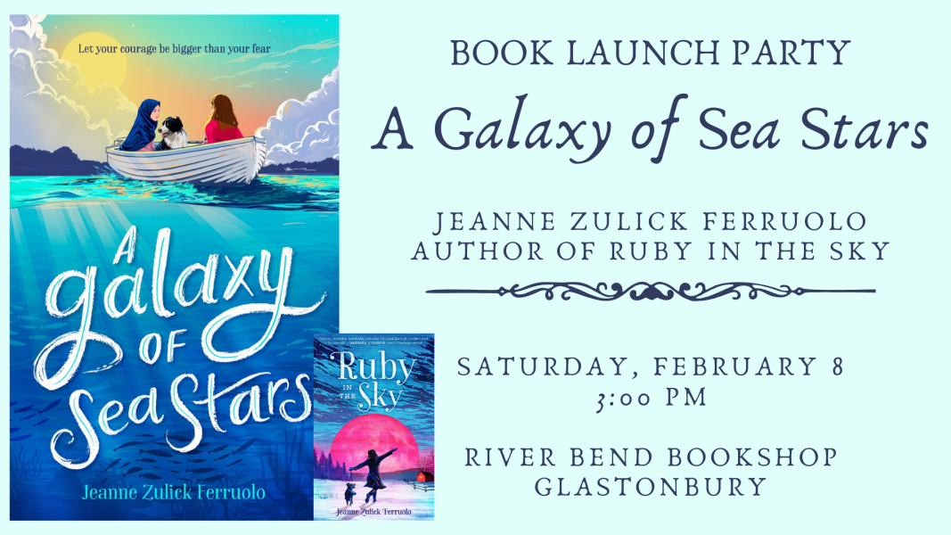 Book Launch Celebration for A Galaxy of Sea Stars to be held at River Bend Bookshop