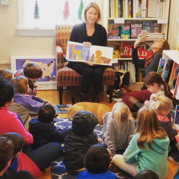 Teresa Pelham Reads Her Picture Book at River Bend Bookshop