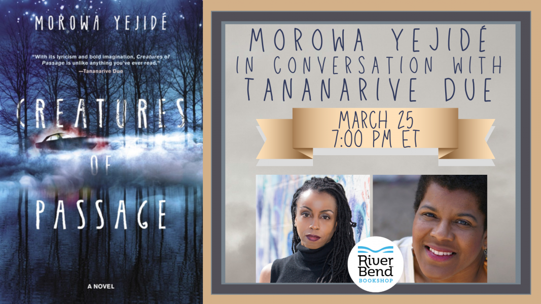 Morowa Yejide and Tananarive Due in conversation at River Bend Bookshop