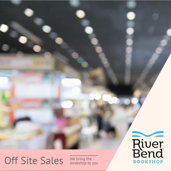 River Bend Bookshop brings the books to you with offsite sales