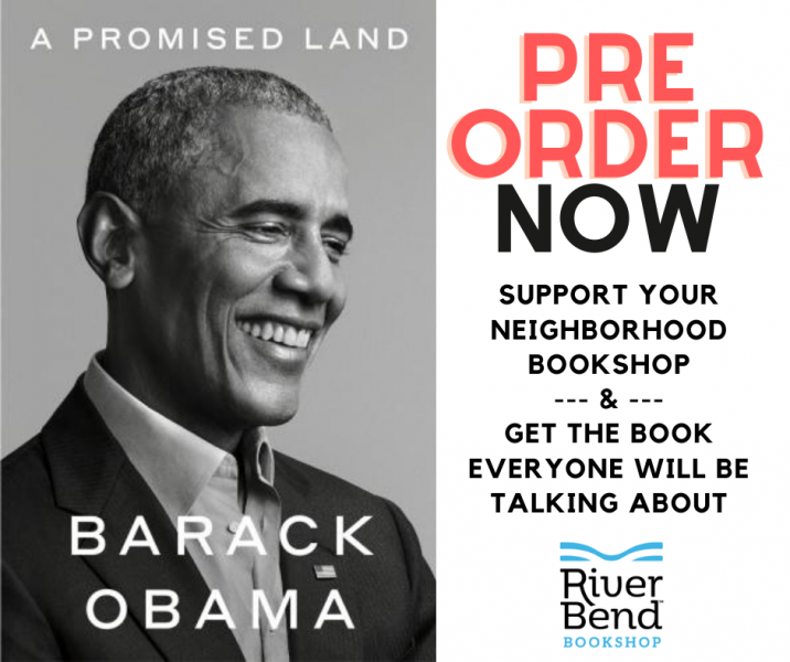 Pre Order A Promised Land by Barack Obama at River Bend Bookshop