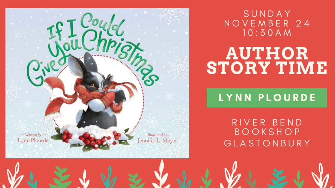 Author Lynn Plourde at River Bend Bookshop