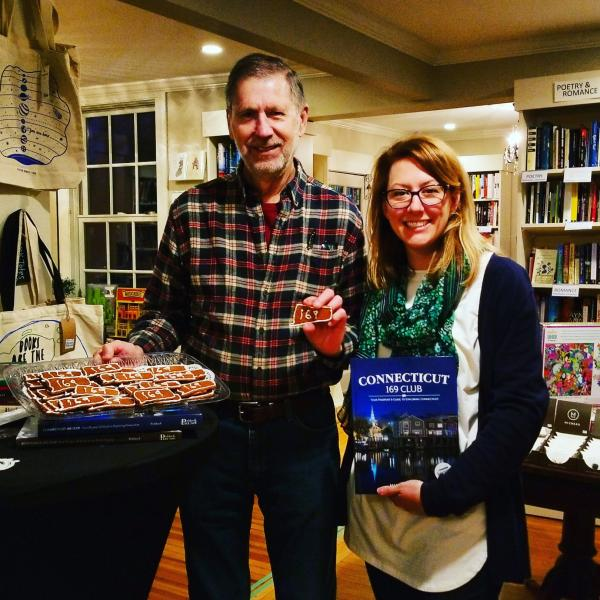 Martin Podskoch at River Bend Bookshop