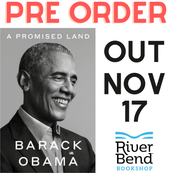 Pre Order A Promised Land by Barack Obama from River Bend Bookshop
