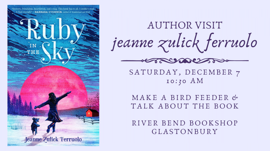 Jeanne Zulick Ferruolo at River Bend Bookshop