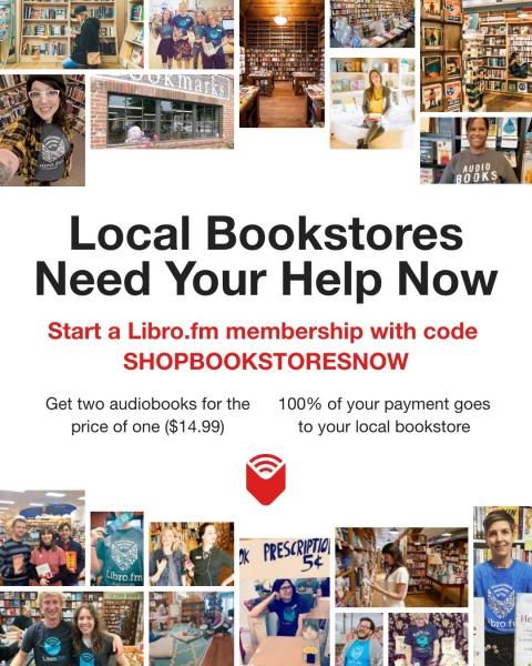 Buy Audiobooks and Support River Bend Bookshop!