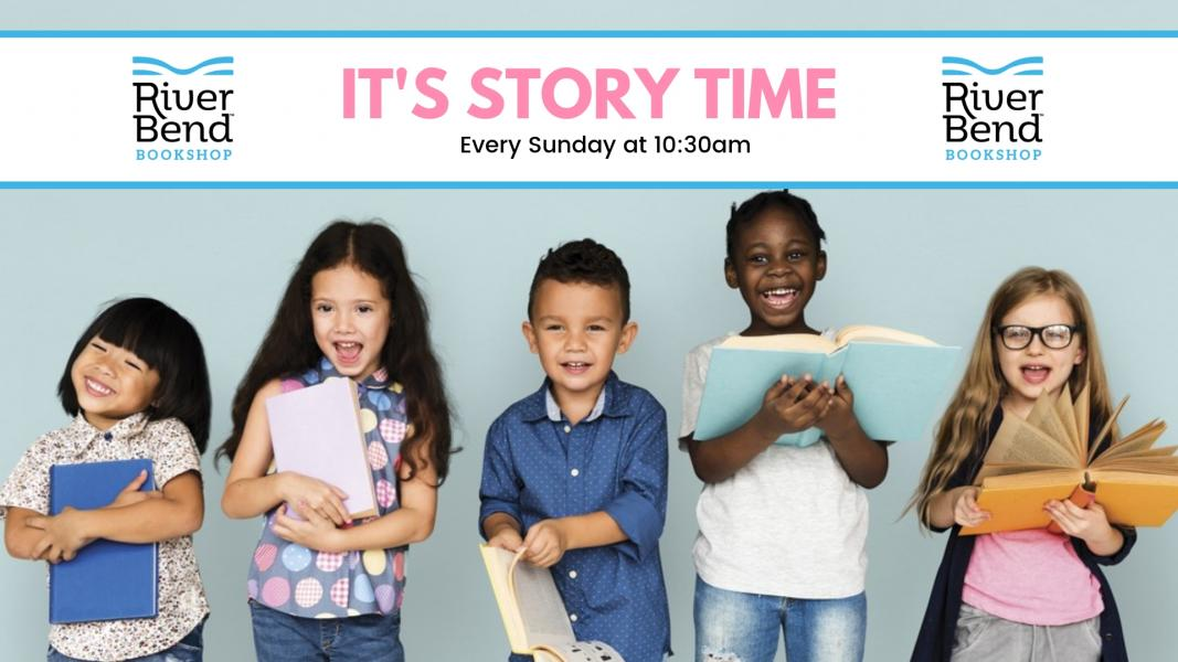 Weekly Sunday Story Time at River Bend Bookshop