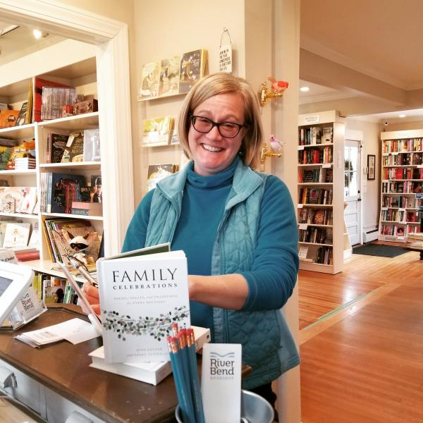 Nancy Tandon at River Bend Bookshop
