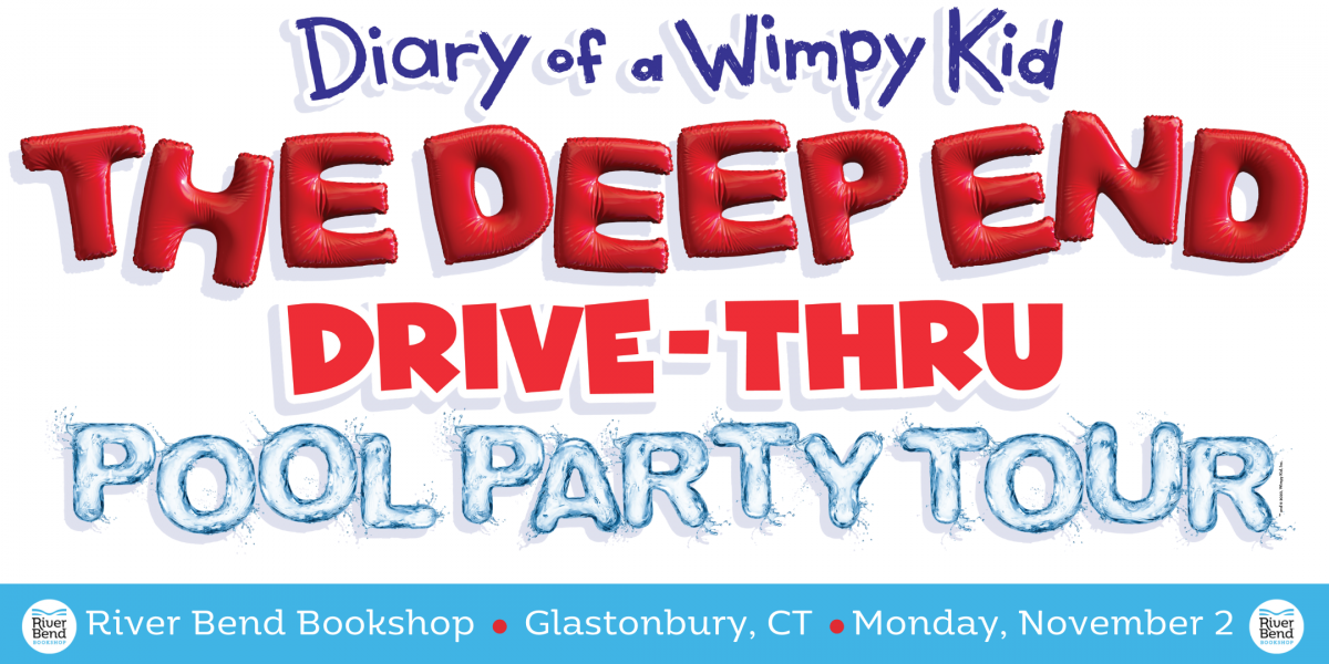 Jeff Kinney is coming to River Bend Bookshop