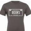 """BOOKS Plate T-Shirt (Select """"More Info"""" to choose color/size)"""