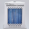Chanukah Candles Blue and White