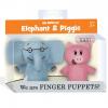 Elephant & Piggie Finger Puppets