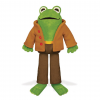 Frog (From Frog and Toad) Plush Toy