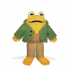 Toad (From Frog and Toad) Plush Toy